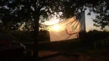 Die Sonne geht unter, Zeit sich bei Haller Löwenbräu für die Unterstützung zu bedanken!
