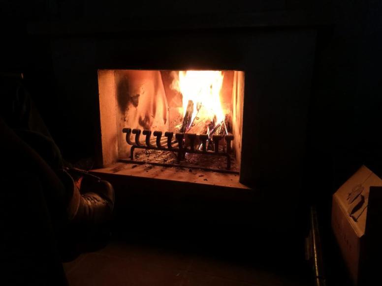 Kälte kein Problem - Feuer frei!